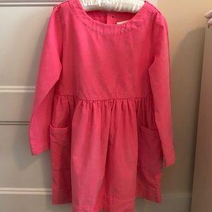 Hanna Anderson Girls Corduroy Dress